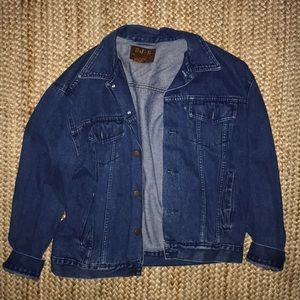Vintage oversized jean jacket